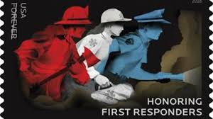 Honoring first responder stamps