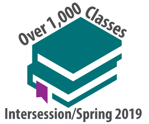 Over 1100 Intersession/spring 2019 courses