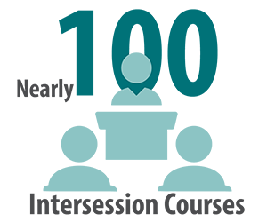 More than 100 Intersession Courses