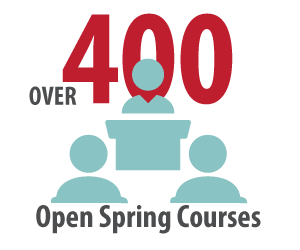 List of Spring 2018 open courses