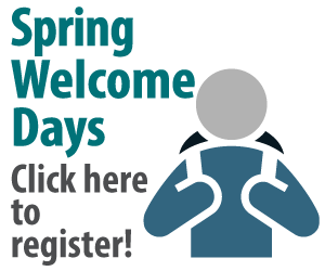 Spring Welcome Days
