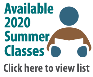 available 2020 summer classes