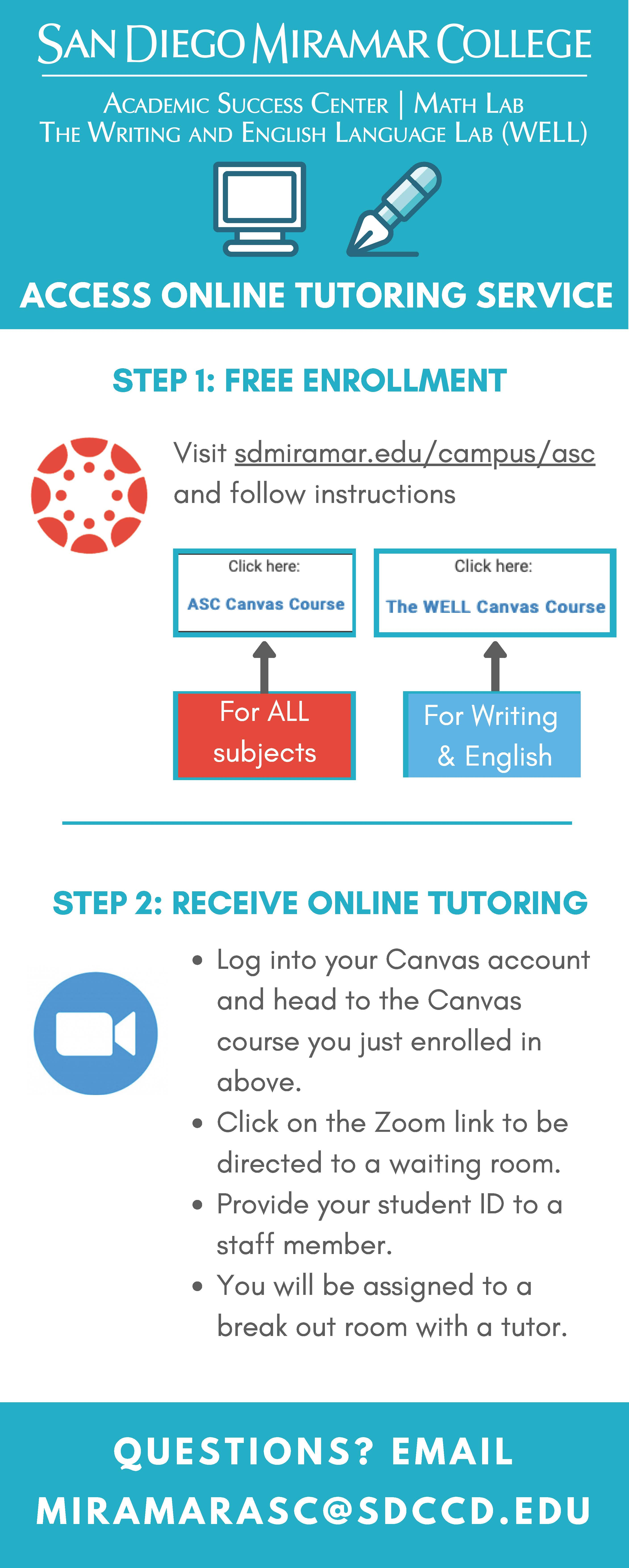 Access ASC Tutoring Service