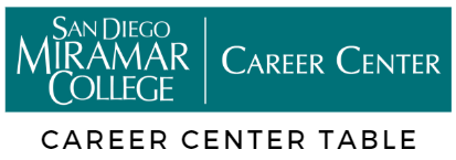San Diego Miramar College Career Center Table