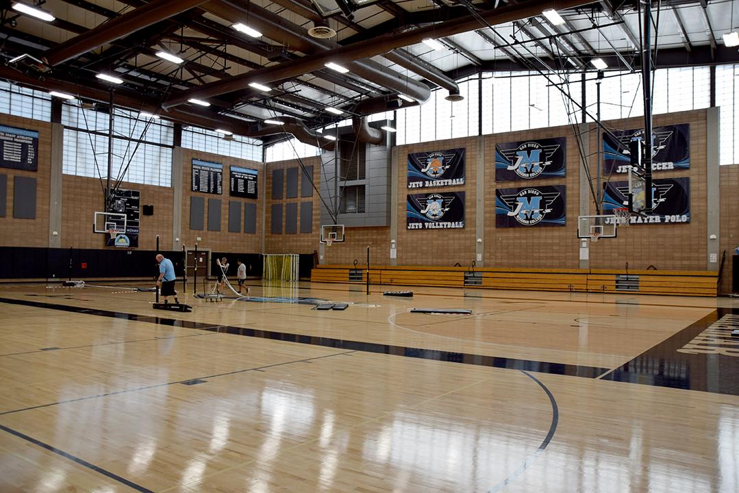 Miramar College Hourglass Field House Gymnasium San Diego Miramar College