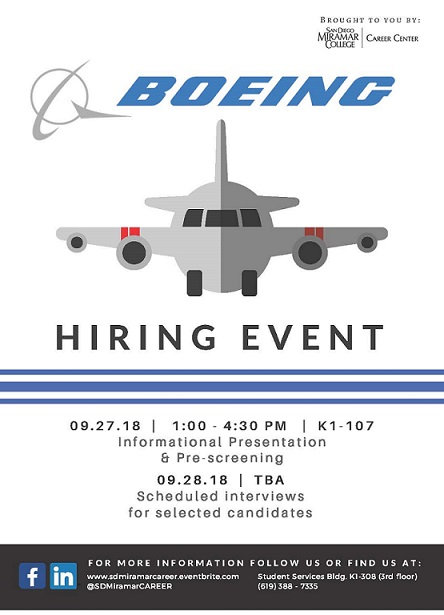 Boeing Hiring Event