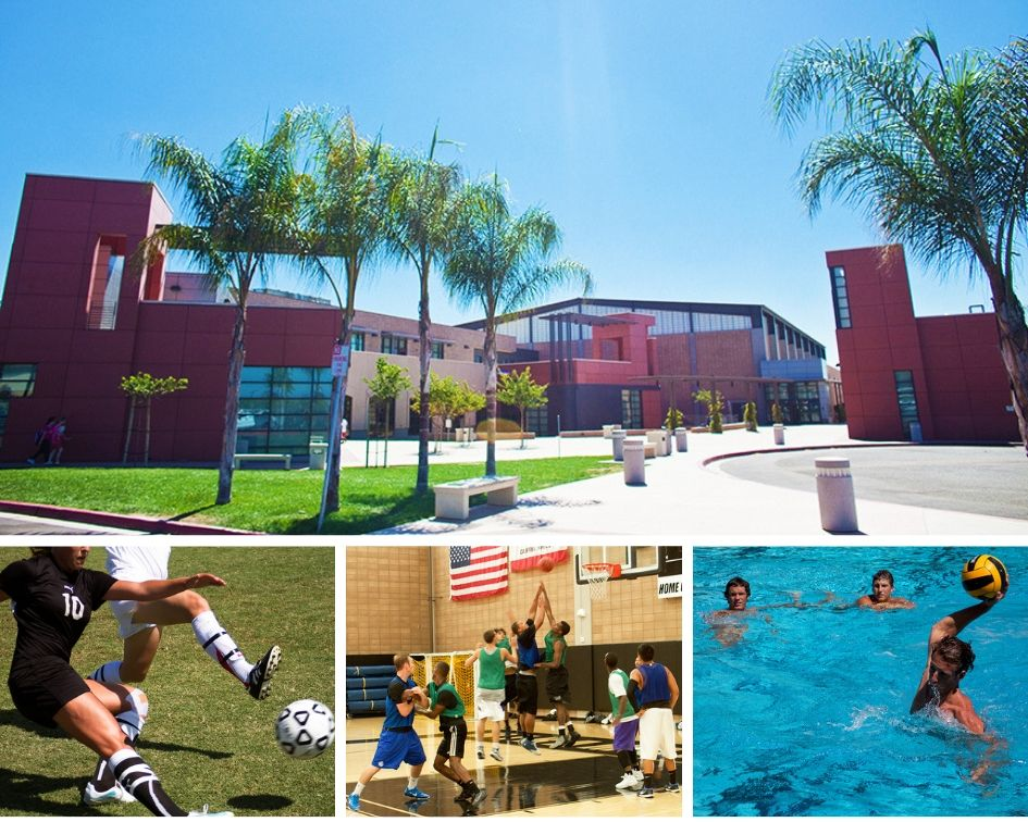 Photo collage of Hourglass facilities and activities