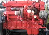 Red Diesel Engine
