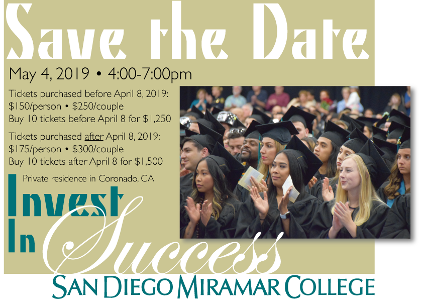 Invest in Success: May 4th, 2019 4:00pm - 7:00pm