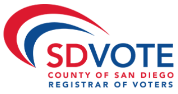 Registrar of Voters - County of San Diego